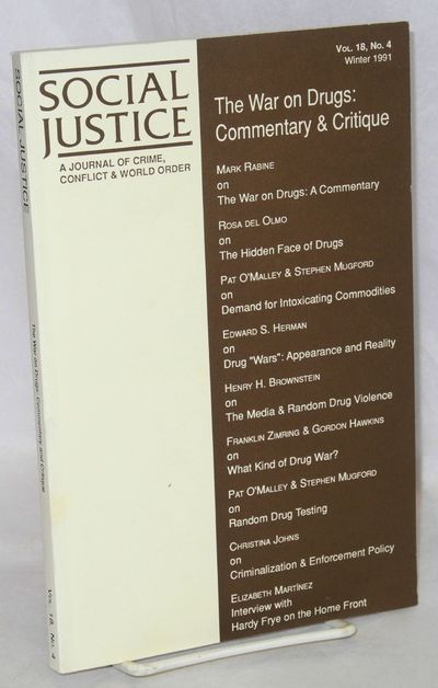 San Francisco: Social Justice, 1991. Paperback. 178p., introduction, footnotes, references, very goo...