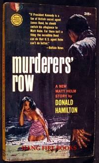 Murderers' Row: A Matt Helm Novel