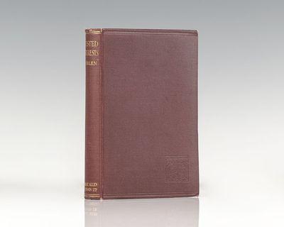 London: George Allen and Unwin, Ltd, 1924. First British edition of Veblen's classic work. Octavo, o...
