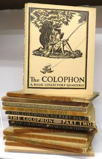The Colophon, Parts 1-14