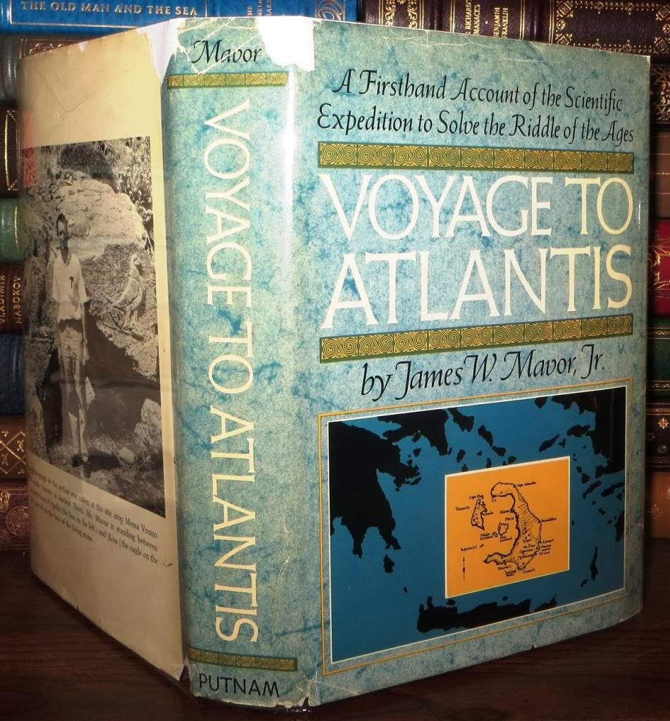 VOYAGE TO ATLANTIS by James W  Jr Mavor - First Edition