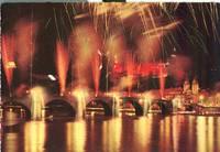 Germany – Heidelberg, Schlossbeleuchtung und Feuerwerk, used Postcard