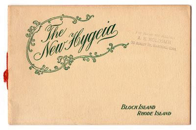 The New Hygeia. Block Island Rhode...