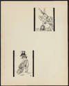 View Image 2 of 6 for ORIGINAL PEN-AND-INK PORTRAITS OF THE MAD HATTER, DORMOUSE, and MARCH HARE AT THE MAD TEA PARTY (Fro... Inventory #003040