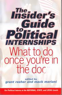 Insider's Guide to Political Internships by Reeher and Mariani - 2002 - from Hard-to-Find Needlework Books and Biblio.com