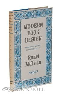 image of MODERN BOOK DESIGN FROM WILLIAM MORRIS TO THE PRESENT DAY