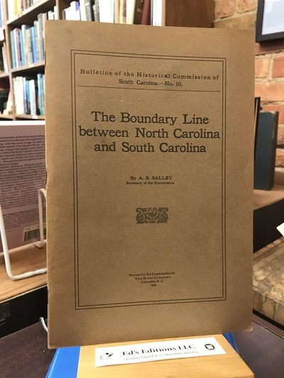 Printed for the Commission by the State Co. Soft cover. Good. B00087IPWU 1929, 38 pages with a fold ...