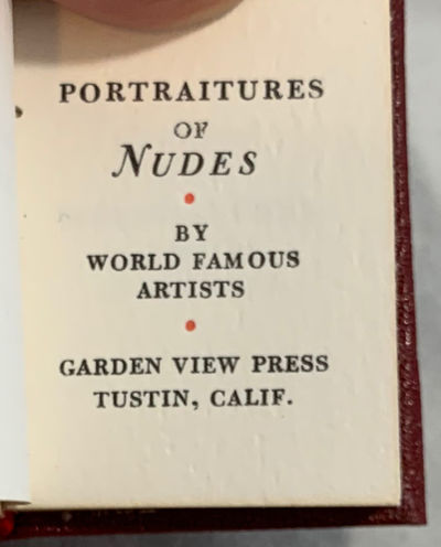 Tustin, CA: Garden View Press, 1975. First Edition. Hardcover. Very Good. Signed. LIMITED EDITION of...
