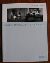 Contemporary Theatre Review Volume 19 issue 4 November 2009