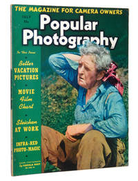 Popular Photography Magazine July 1938: Edward Steichen