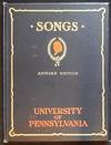 Songs of the University of Pennsylvania brought under one cover by William Otto Miller '04; revised by Friars' Seniour Society, 1917; with drawings by Ray Riling '17, Frederick Thomas Bigger '03, James Bullen Karcher '04