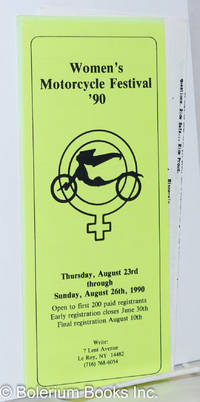 image of Women's Motorcycle Festival '90 [brochure] Thursday, August 23rd through Sunday, August 26th, 1990