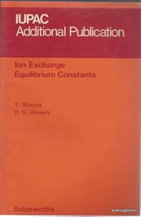 Ion Exchange Equilibrium Constants (IUPAC Additional Publication)