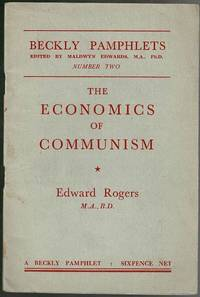 image of The Economics of Communism (Beckly Pamphlets)