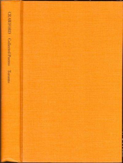 Toronto: University of Toronto Press, 1972. Hardcover. Very Good. xxxiv, 309pp. Very good hardback b...