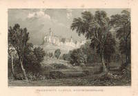 View of  the Country House, Warksworth Castle after T. Allom by S. Lacey.