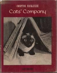 Cat's Company by  Compton w/photographs by Richard Herzenberg Mackenzie - 1961 1st Am ed. - from Auldfarran Books, IOBA (SKU: 13375)