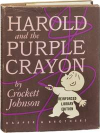image of Harold and the Purple Crayon (First Edition, library issue)