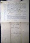 View Image 6 of 7 for 1863 Port of Philadelphia Manuscript Bill of Lading Entry of Merchandise Customs Duties for the Ship... Inventory #24814