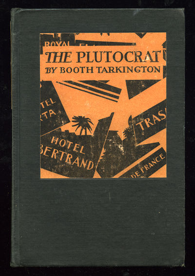 New York: Doubleday, Page, 1927. Hardcover. Near Fine. First edition. Hinge beginning to crack else ...