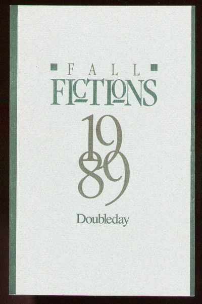 New York: Doubleday, 1989. Softcover. Fine. First edition. Fine in wrappers. Contributors include Da...