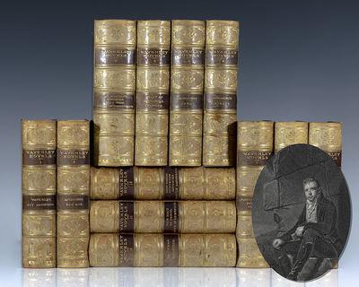 Edinburgh: Adam & Charles Black, 1883. The Centenary Edition of Sir Walter Scott's Waverly Novels. O...