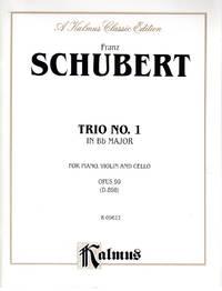Piano Trio No. 1 in Bb Major, Op. 99 (D.898) [PIANO FULL SCORE, VIOLIN and CELLO PARTS]