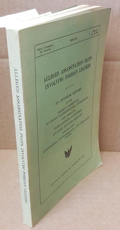 Washington, D.C.: GPO, 1975. Proceedings. Octavo; vg+/wraps; green spine with black text; ex libris,...