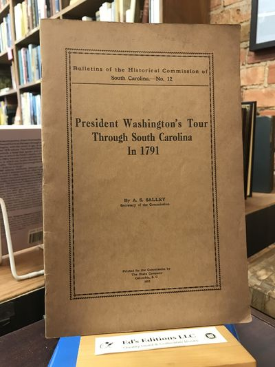 South Carolina: The State Company, 1932. PAMPHLET. Good. 1932, 30 pages. Few notations on text- name...