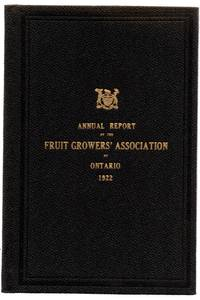 Fifty-fourth Annual Report of the Fruit Growers' Association of Ontario, 1922