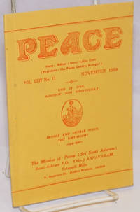 Peace. Vol. XXIV no. 11 (November 1959)