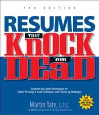 Resumes That Knock 'em Dead (Knock 'em Dead Resumes)
