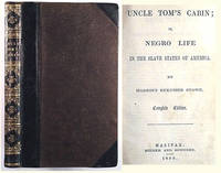 Uncle Toms Cabin by  Harriet Beecher Stowe - 1st Edition - 1852 - from TBCL  The Book Collector's Library and Biblio.co.uk