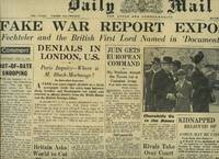 Daily Mail Original Broadsheet Newspaper Saturday May 10th, 1952. Lead Story to the Front Cover: Fake War Report Exposed, Fechteler and the British First Lord named in Document Plant