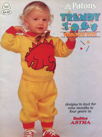 image of PATONS : TRENDY TOGS FOR TINY TOTS : Designs to Knit for Nine months to Four Years (Patons Book #522)