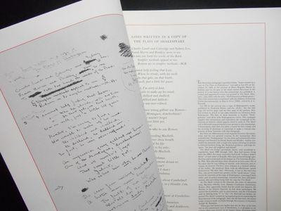 San Francisco: The Black Vine Press, 1964. No binding. Near fine. Elephant folio size, pp. Printed f...