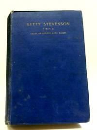 Betty Stevenson, Y.M.C.A: Croix De Guerre Avec Palme; Sept. 3, 1896-May 30, 1918;
