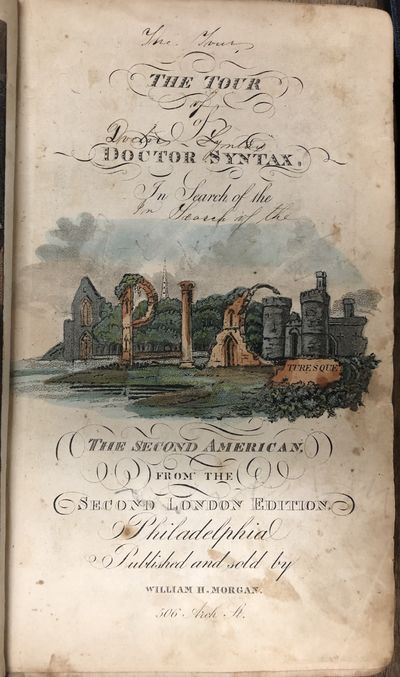 Philadelphia: William H. Morgan. Good. Second American Edition from the Second London Edition. . Fir...