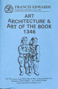 Catalogue 1346/n.d, c.1990 : Art, Architecture & Art of the book.