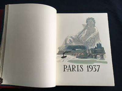 Paul Valery and others. Paris, 1937. Special edition dedicated by the City of Paris, an homage to Pa...