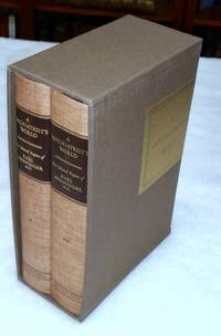 A Psychiatrist's World:  The Selected Papers of Karl Menninger, M.D. (Two Volumes) by  M.D.)  Karl A.  (Edited and with an Introduction By Bernard H. Hall - Signed First Edition - 1959 - from Lloyd Zimmer, Books and Maps (SKU: 037127)
