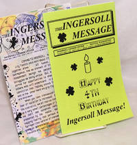 The Ingersoll Message [two issues] vol. 1, #12 & vol. 2, #1, February & March 1996