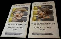 """Ammunition Advertising Score Cards for U.S. Cartridge Co. - """"I Want Some of the Black Shells"""""""