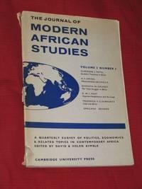 The Journal of Modern African Studies; Volume 2 Number 3, November 1964
