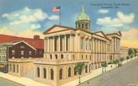 Lancaster County Court House, Lancaster, Pa unused linen Postcard