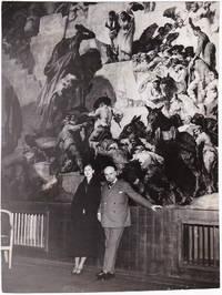 image of Original photograph of Josep Maria Sert and Isabelle Roussandana Mdivani, circa 1930s