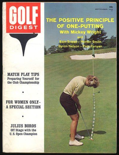 Norwalk, Connecticut: Golf Digest, Inc, 1963. Softcover. Near Fine. First edition. Near fine with li...