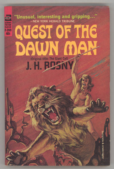 New York: Ace Books, 1964. Small octavo, pictorial wrappers. First paperback edition. Ace F269. Tran...