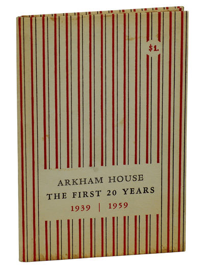 Sauk City: Arkham House, 1959. First Edition. Hardcover. Very Good. First edition, board issue. (One...