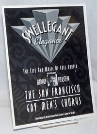 image of Swellegant Elegance: The Life and Music of Cole Porter.  Hosted by the Fabulous Harvery Fierstein [souvenir program] Saturday, July 8, 1995-8 pm, Sunday July 9, 1995-2 pm, Masonic Auditorium